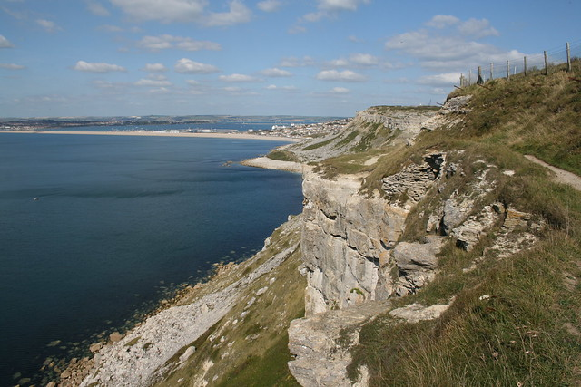 The coast of Portland near Weston