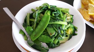 Greens in Garlic Sauce