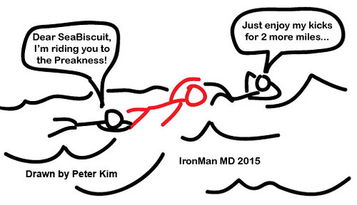 Ironman MD 2015 swim