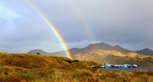 Aleutian Double Rainbow (14) - Dutch Harbor, Alaska