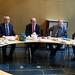 Achim Barchmann im Gespräch mit dem albanischen Parlamentspräsidenten Ilir Meta