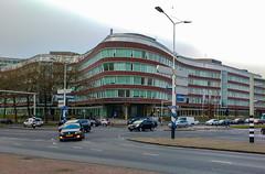 Provinciehuis, hoek Koningskade / Zuid Holland laan