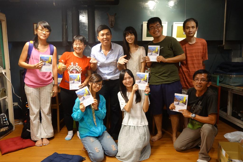 2015.07.26新北-三峽客《我在西藏曬靈魂-新書分享會》