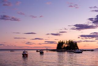 Sunset Cape Newagen Maine