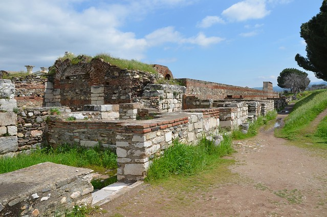The Byzantine Shops, Sardis (Lydia), TurkeySardis (Lydia), Turkey