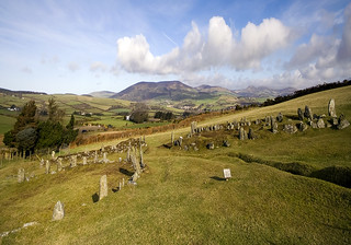 The Braaid: Roundhouses and longhouses, Isle of Man