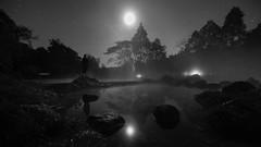 Chae Son National Park, Lampang, Thailand (Black and White)
