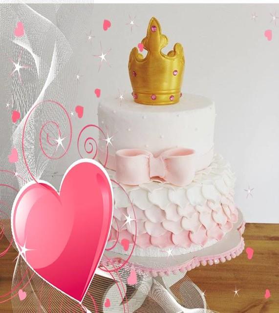 Princess Cake by Marina Silvia Rothhuber of Silvycakes
