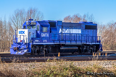 GMTX 2175   EMD GP38-2   UP Marion Intermodal Facility