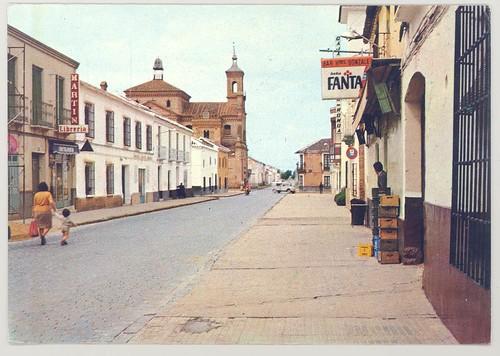 Moral de Calatrava (Ciudad Real): calle Ntra. Sra. de las Mercedes.