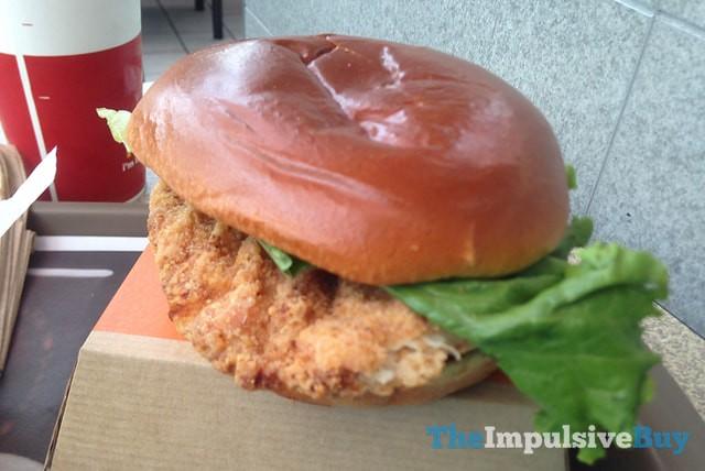 McDonald's Buttermilk Crispy Chicken Sandwich