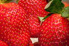 Strawberries up close by Victor Wong (sfe-co2)