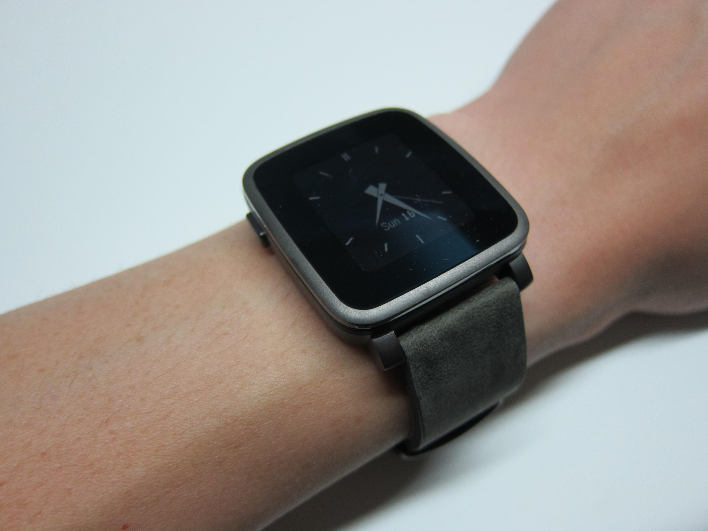 Pebble Time Steel Watch « Blog