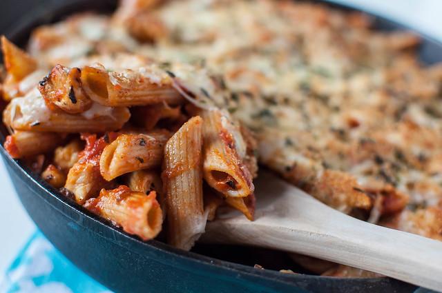 Chicken Parmesan Skillet 12