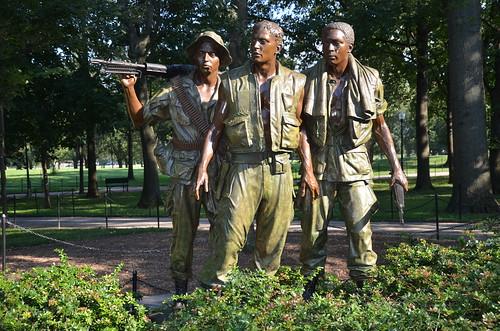Washington DC Vietnam Veterans Memorial Jul 15 (1)