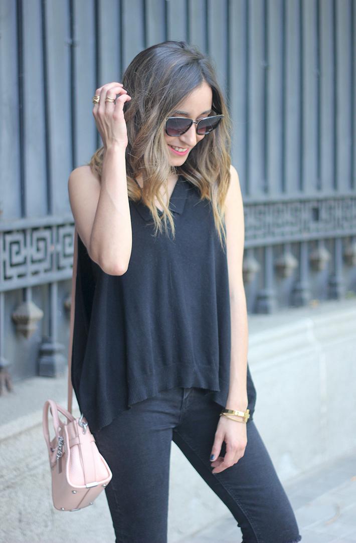 Lace Up Flats Black Jeans Top Hoss Intropia Coach Bag Aristocrazy14