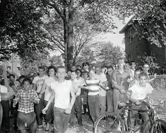 White students terrorize Anacostia black students: 1954