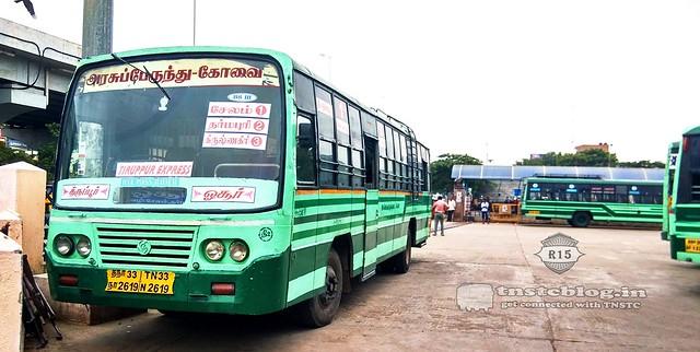 TN33 N 2619 CBE/TPR-2 Hosur -Tirupur  1 to 4