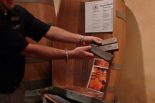 Del Dotto Vineyards Historic Winery and Caves - Toast levels