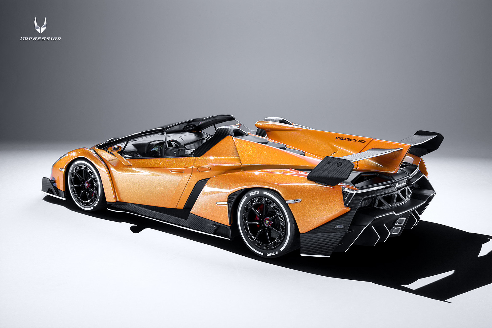 Lamborghini Veneno Roadster Orange Amp Black Kyosho Diecast International Forum