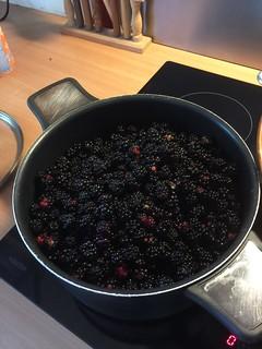 les fruits bouillent