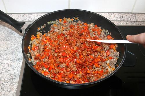 30 - Tomatenmark anrösten / Roast tomato puree
