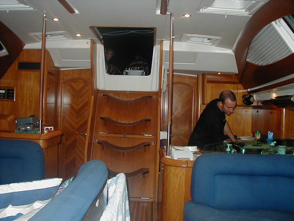 Working on a yacht in the BVI's November 2007