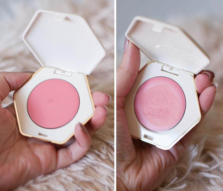 H&M beauty velvet cream blusher in sunny peach review