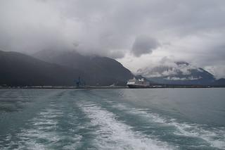 012 Vertrek uit haven Seward