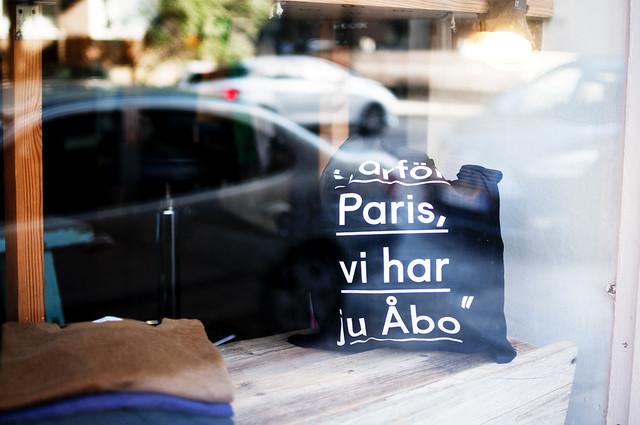 Varför Paris, vi har ju Åbo