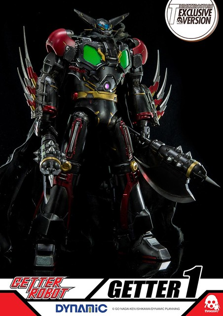 ThreeZero Getter Black