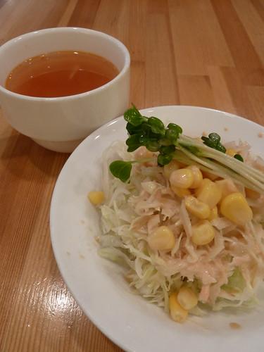サラダとスープ 紅茶の店 ケニヤン