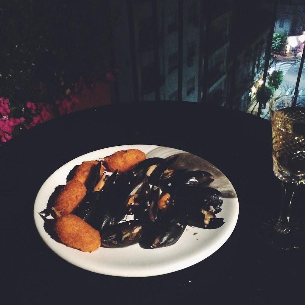 La Cena De Casa En Mi Terraza Mejillones Rsny Flickr