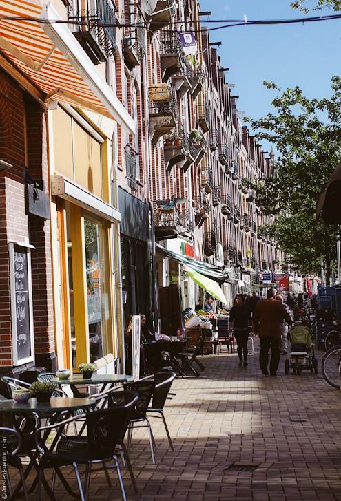 Amsterdam, Javastraat in Indische Buurt