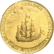 1681 Gold medal of Frederick William