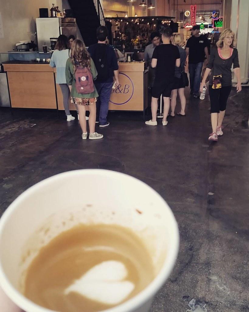 Coffeeneuring 3/8 #grandcentralmarket