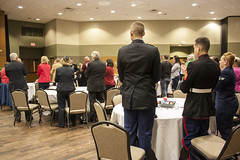 Chancellor's Veteran Reception, Phoenix Room, November 11, 2015