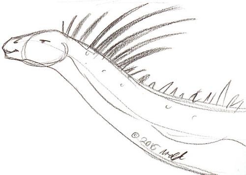Draw Dinovember 11.4.15 - Agustina