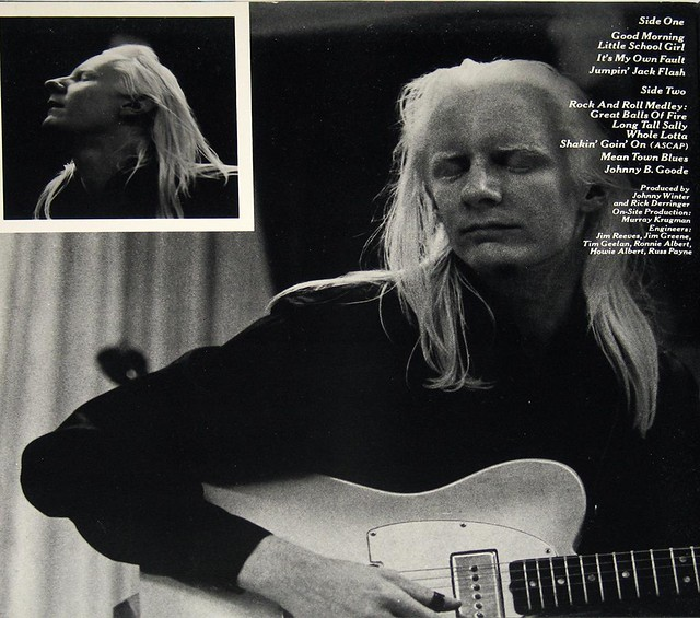 JOHNNY WINTER AND & AND LIVE 2LP
