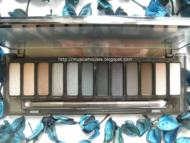 Urban Decay Naked Smoky Palette Shades