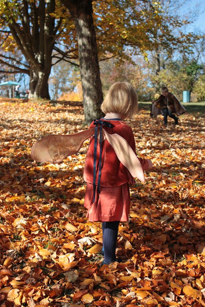 Déguisement de fée d'automne