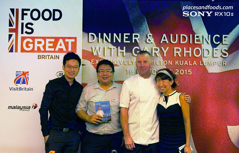 dinner and audience with gary rhodes group shot
