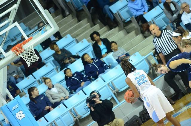 basketball: yale @ unc