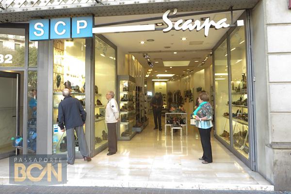 comprar sapatos em Barcelona