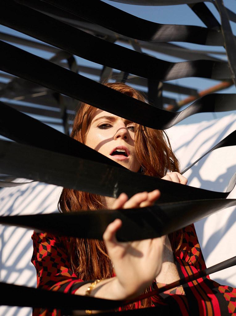 Роуз Лесли — Фотосессия для «InStyle» UK 2015 – 10