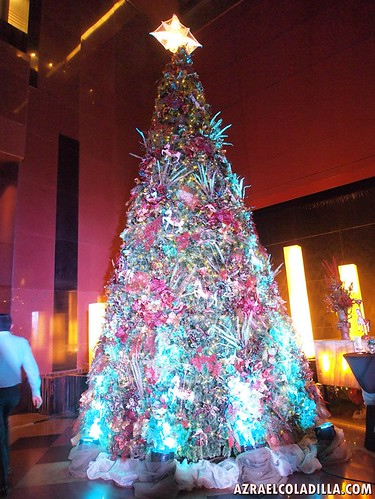 Christmas tree lighting at Discovery Suites Ortigas