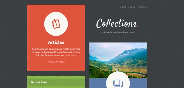 TheThemeFoundry Collections v1.1.6 – WordPress Theme