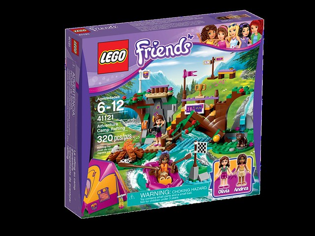 LEGO Friends 41121 - Adventure Camp Rafting