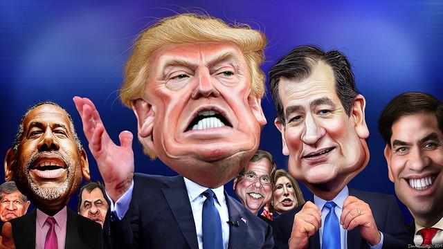Republican Primary Lineup December 2015