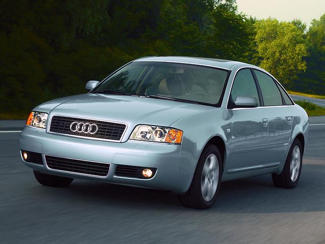 Седан E класса Audi А6 для рынка США. 2004 год